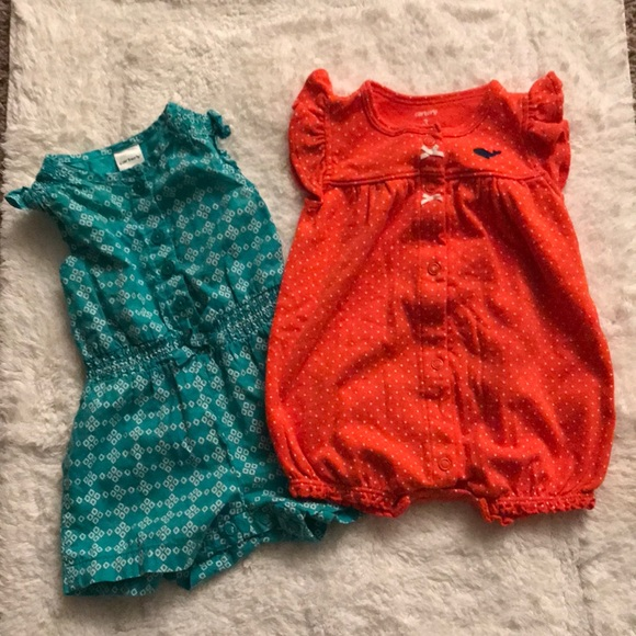 Carter's Other - Carter's Infant Girl's Rompers